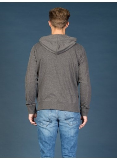 Colin's Fermuarlı Kapüşonlu Sweatshirt Antrasit
